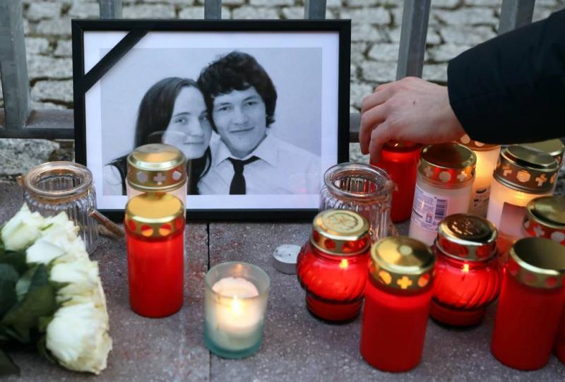 Verdachten moord Slowaakse journalist vrij