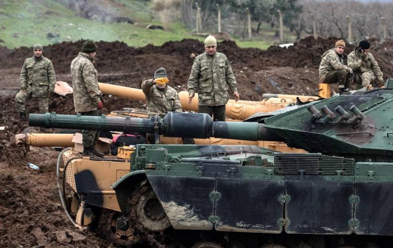 Pro-Syrische troepen gedood bij bombardement