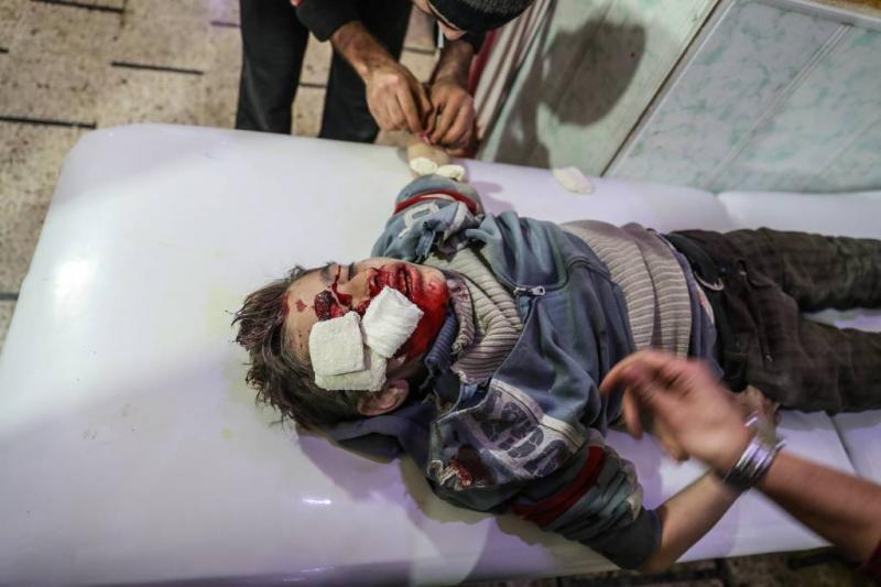 VS: Russen doden burgers in Oost-Ghouta