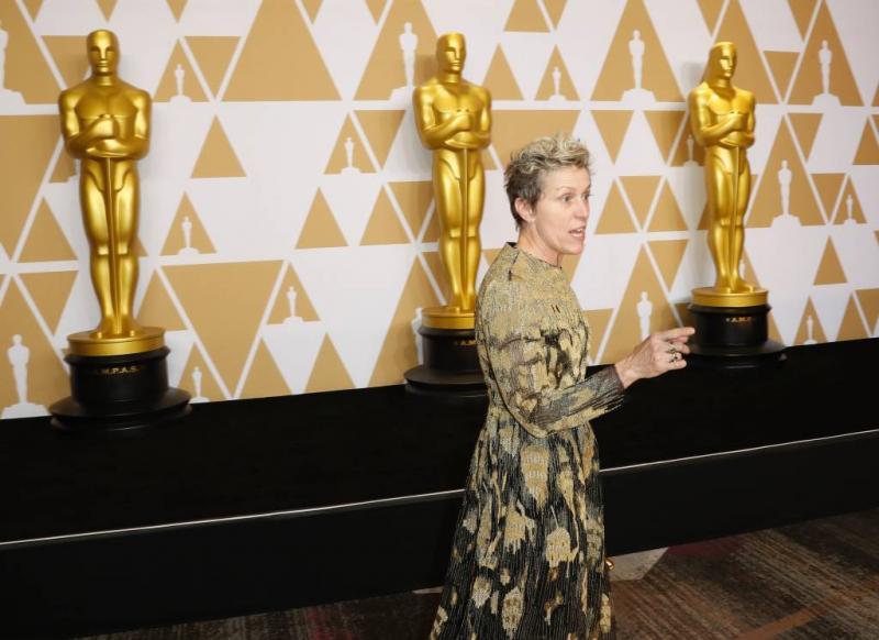 Dief van Oscarbeeldje McDormand gearresteerd