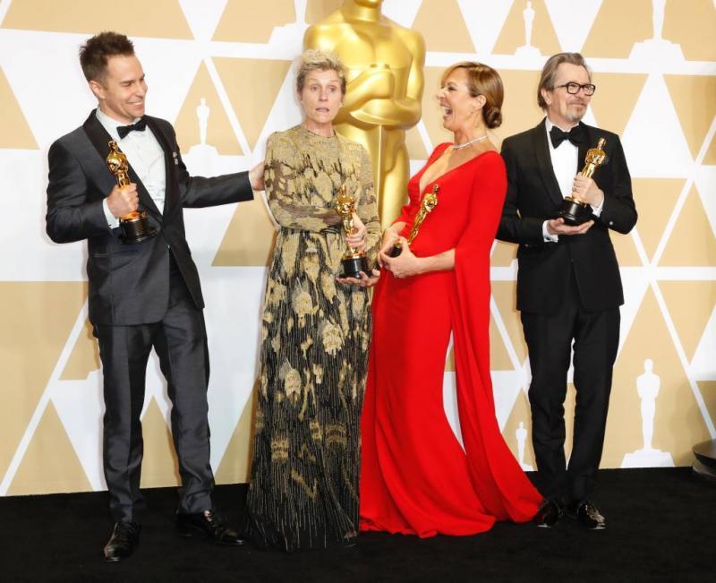 Oscarbeeldje McDormand gestolen op feest