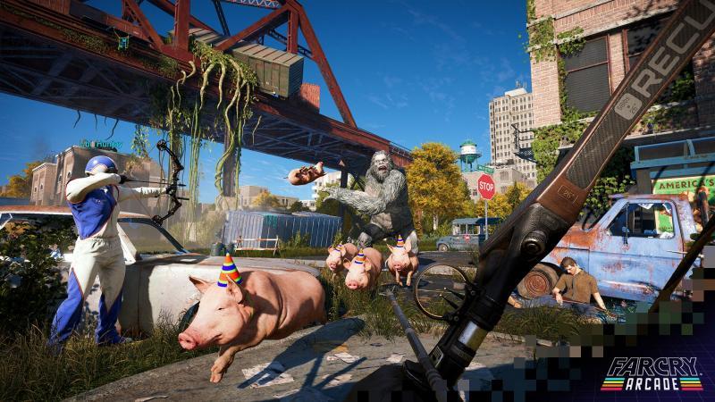 Far Cry Arcade - Pig Party (Foto: Ubisoft)