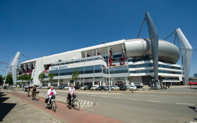 Grote oefening op verdacht pakket PSV-stadion