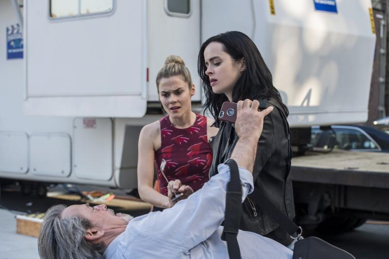 Jessica Jones: James McCaffrey, Rachael Taylor en Krysten Ritter