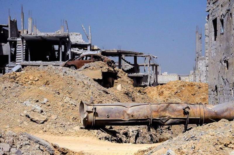 Jihadisten verdedigen belegerd Oost-Ghouta