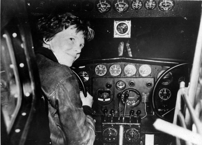 'Gevonden botten van Amelia Earhart'