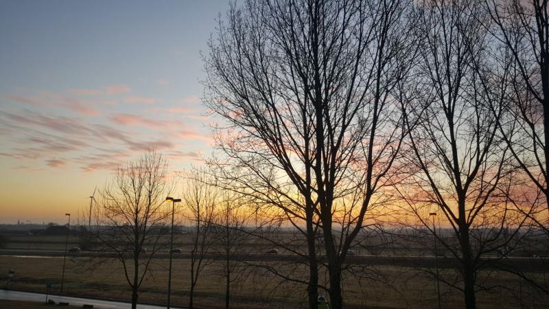 Zon in het oosten (Foto: iteejer)