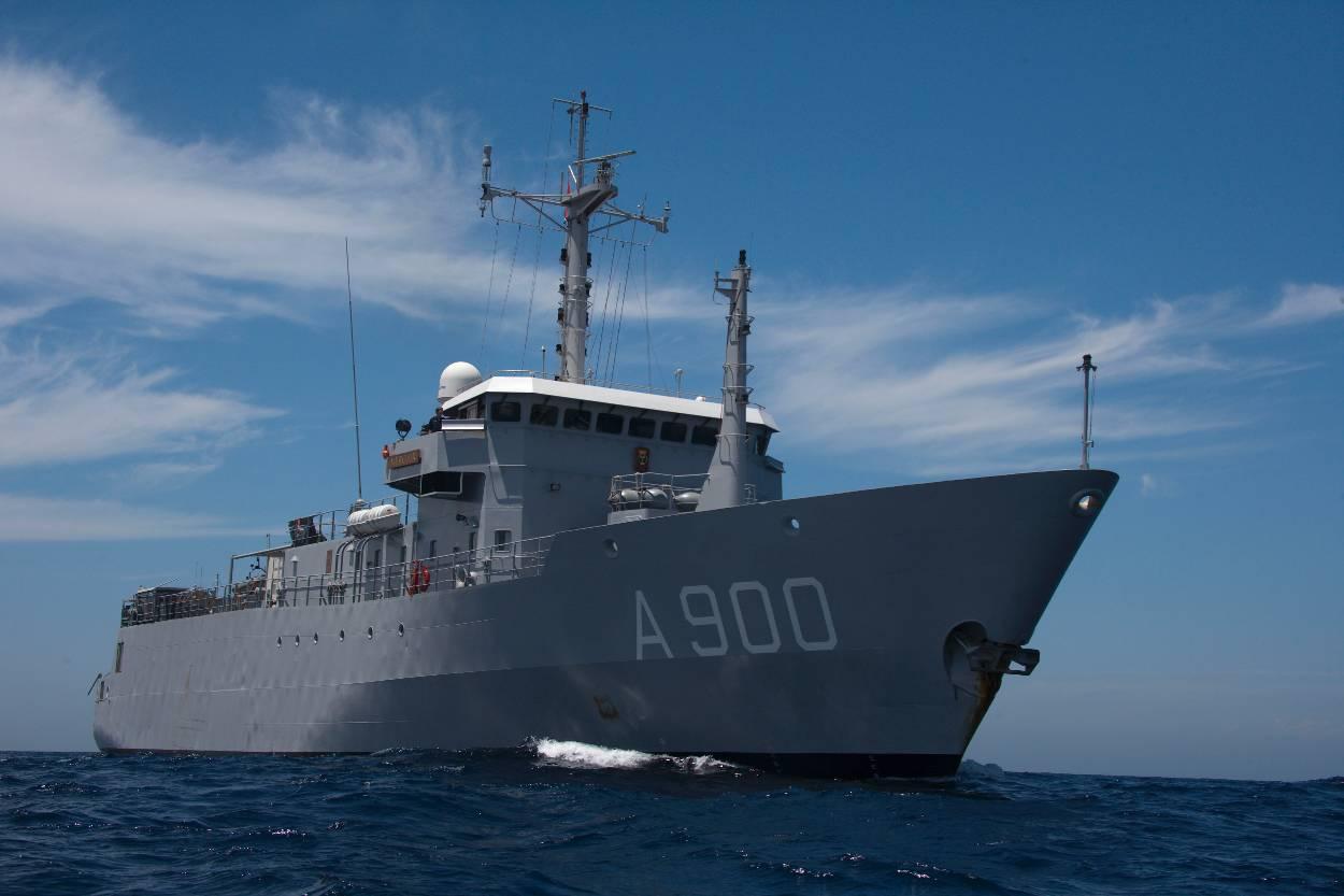 Archieffoto Zr. Ms. Mercuur (Foto: Ministerie van Defensie)