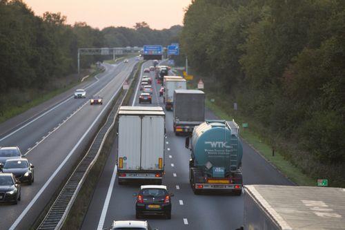 'Duivelse' groei internationaal wegvervoer  (Foto: Centraal Bureau voor de Statistiek)