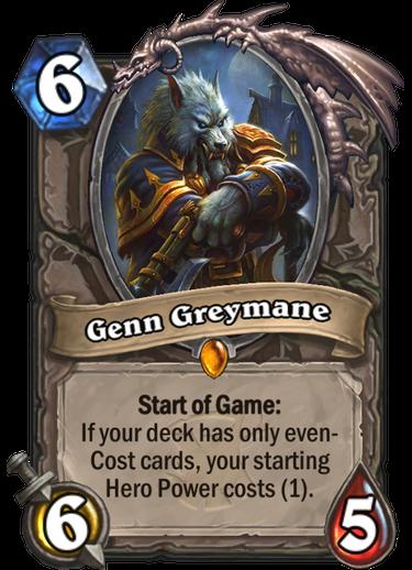 Genn Greymane Hearthstone
