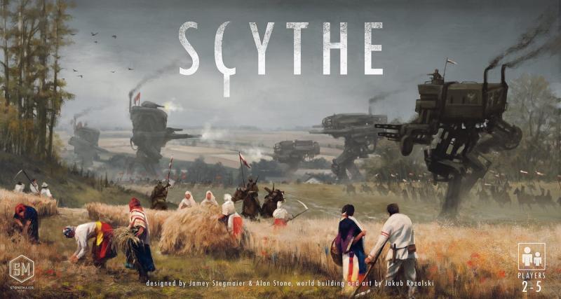 Cover van bordspel Scythe (Jakub Rozalski)