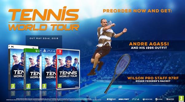 Tennis World Tour - Preorder Bonus (Foto: Bigben Interactive)