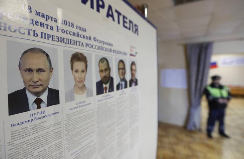 Rusland kiest president