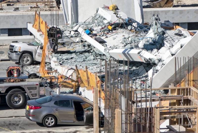 Ingenieur meldde scheuren rampbrug Miami