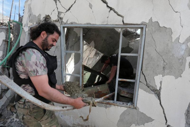 Turkije ontkent bombarderen ziekenhuis Afrin