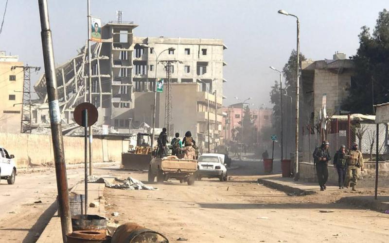 Koerden in Afrin kondigen guerrillastrijd aan