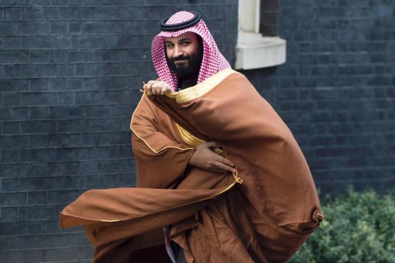 Kroonprins: 'abaya' niet verplicht voor vrouw