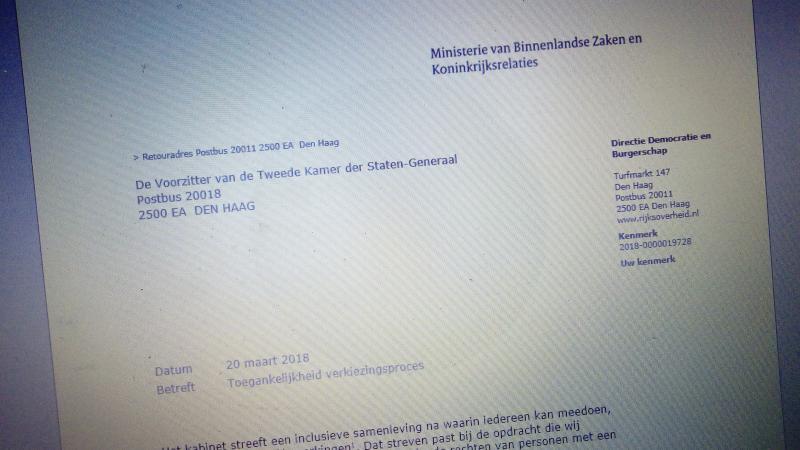 Stemlokalen verplicht toegankelijk voor mindervaliden (Foto: FOK! )