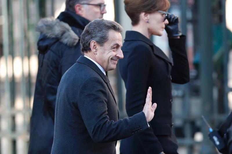 'Nicolas Sarkozy gearresteerd'