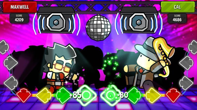 Scribblenauts Showdown Dancing