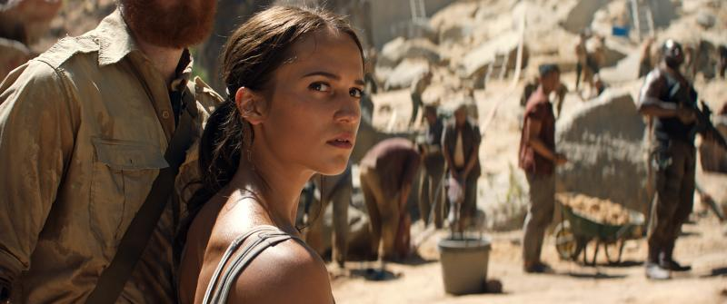 Tomb Raider: Alicia Vikander
