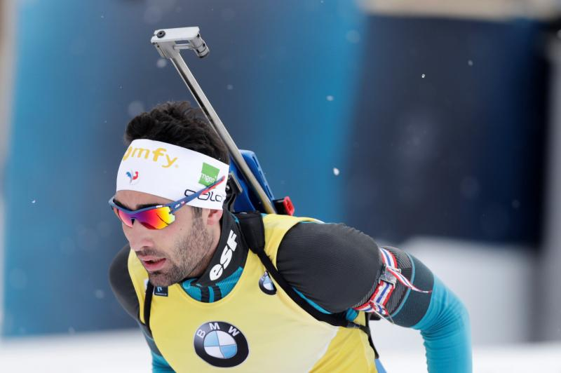 Biatleet Fourcade slaat slag in strijd om World Cup (Pro Shots / Action Images)