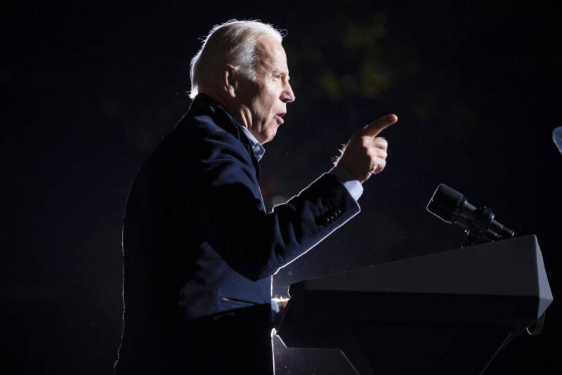 Trump: ik zou gevecht met 'gek' Biden winnen