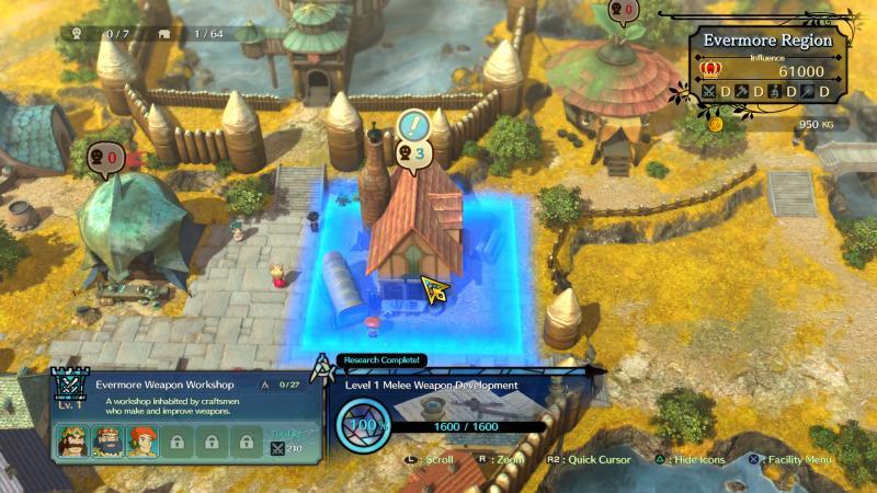 Ni no Kuni: Revenant Kingdom - Kingdom Mode (Foto: Bandai Namco)