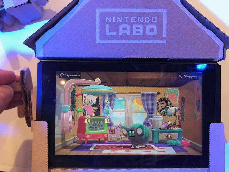 Nintendo Labo - Huis (Foto: Pheno)