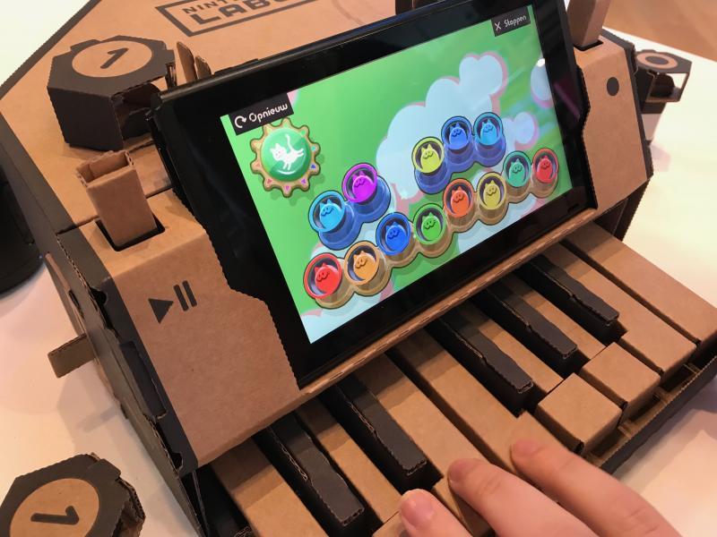 Nintendo Labo - Piano (Foto: Pheno)