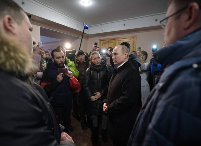 Poetin kondigt dag van nationale rouw af