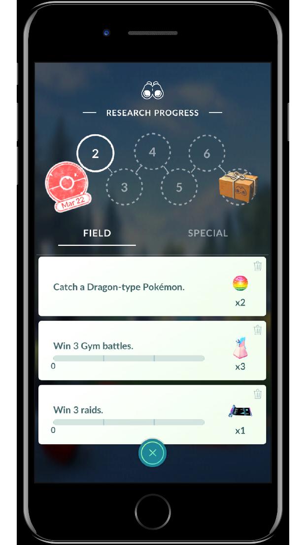 Pokémon Go Research
