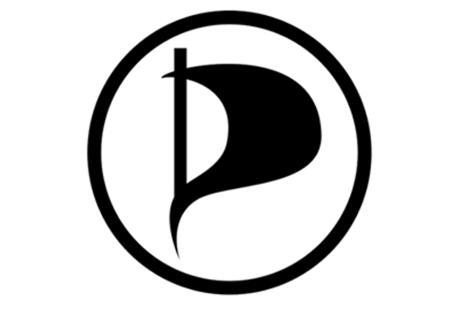 Piraten partij vlag