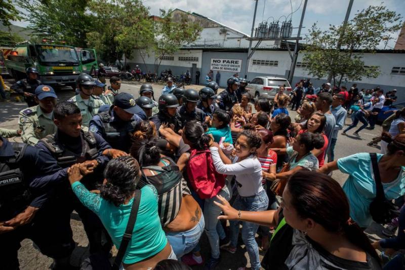 Veel doden door brand politiebureau Venezuela