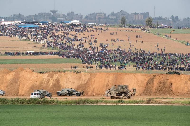Doden en gewonden bij Palestijns protest