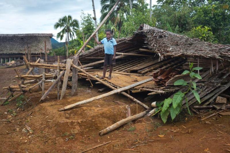 Opnieuw zware beving in Papoea-Nieuw-Guinea