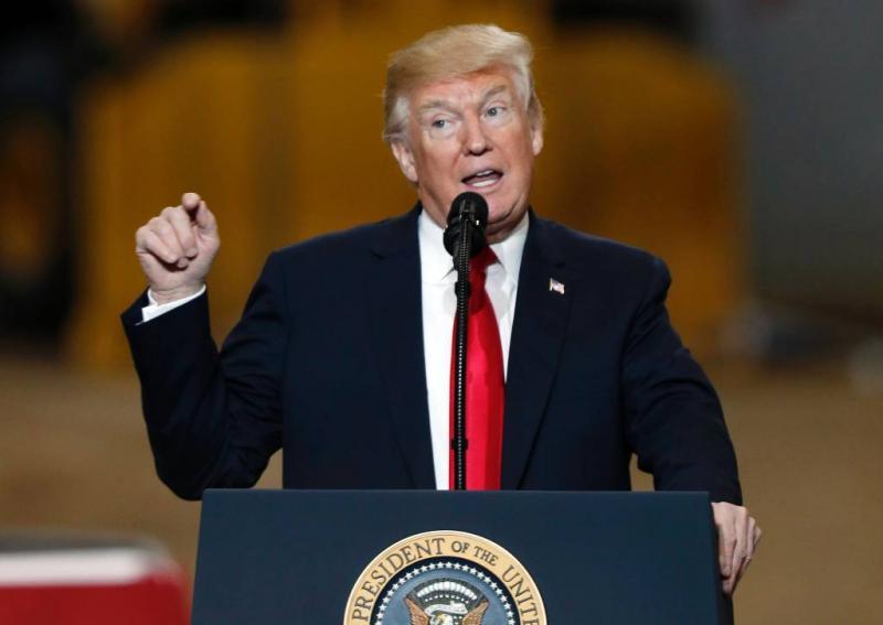 Trump overweegt spoedig vertrek uit Syrië