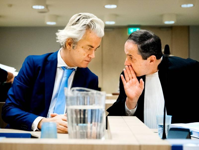 Wilders wil uitstel behandeling hoger beroep