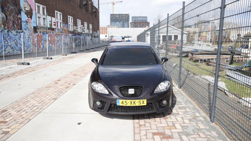 De gestolen auto (Foto: Politie.nl)