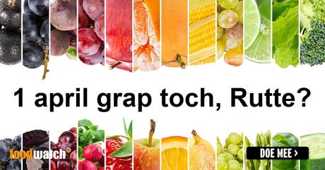 Foodwatch: maak 1-aprilgrap van btw-verhoging