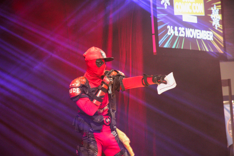 Dutch Comic Con 2018: Deadpool on stage