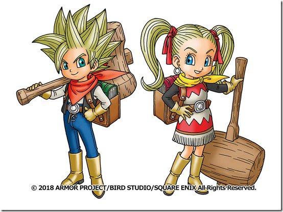 Dragon Quest Builders 2 Protagonisten