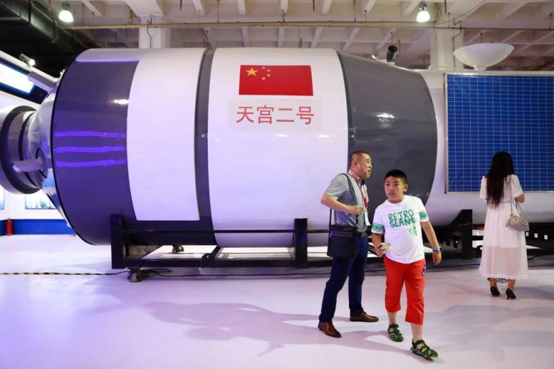 Chinees ruimtestation vergaan in dampkring
