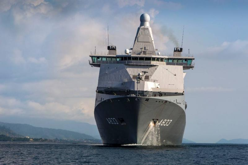 Doorman levert bijdrage aan maritieme veiligheid NAVO (Foto: Defensie.nl)