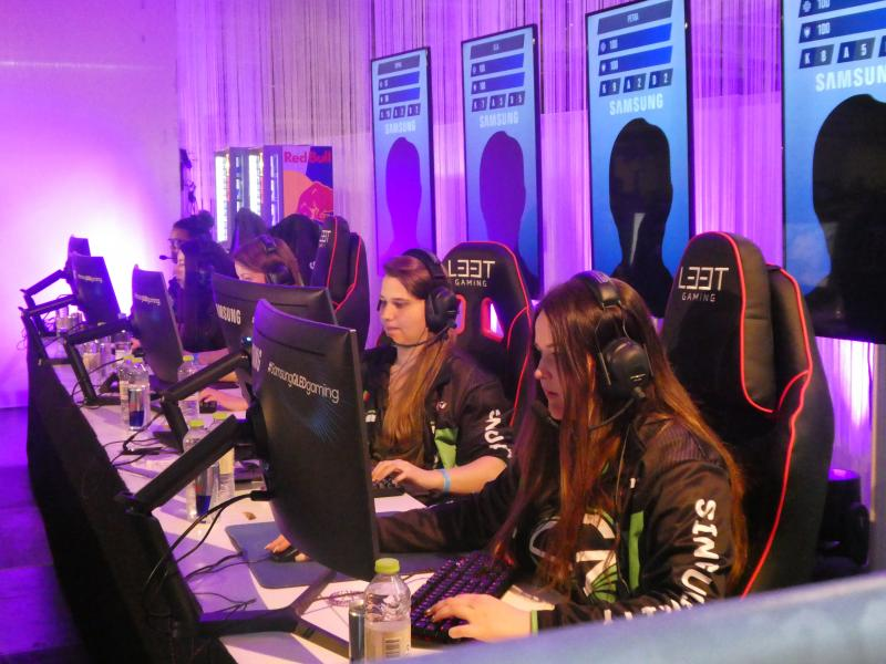 CSGO Ladies op CopenHagen Games