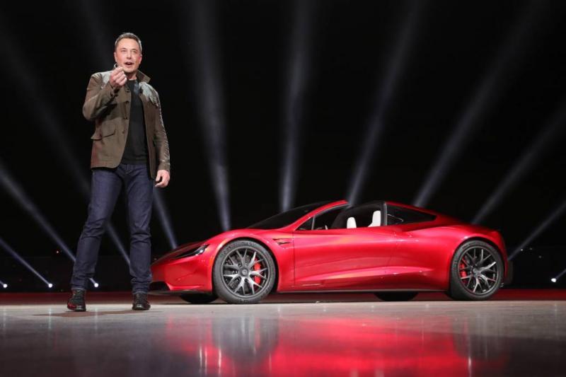 Megabeloning Musk ver weg door dip Tesla