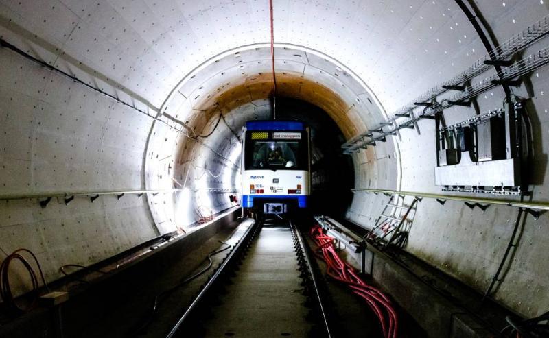 Amsterdamse Noord-Zuidlijn rijdt op 22 juli