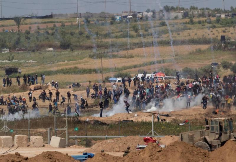 'Dode en gewonden bij protesten Gaza'