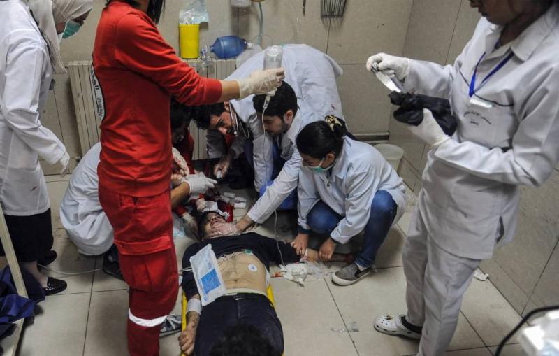 'Gifaanval Douma gemaakte beschuldiging'
