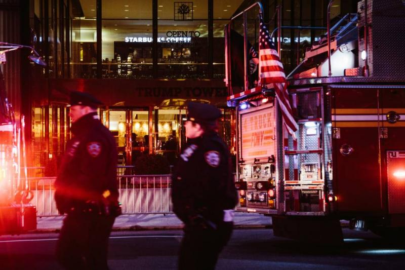 Dode bij brand in Trump Tower in New York